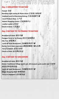 3 Day 2 Night Batam/Tg Pinang