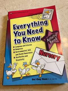 Nursery book  - Everything You need to know