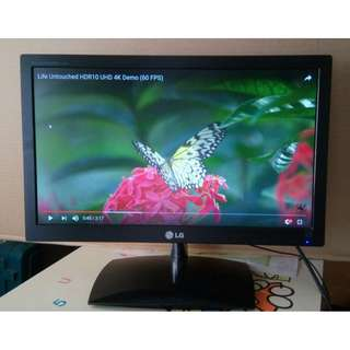 "LG 19"" lcd Monitor 顯示屏幕"