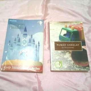 Buku/Novel 'Kerlip Istana Bintang' dan momlit 'Rumah Cokelat'
