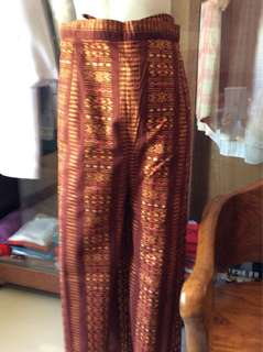 Authentic Batik Overlap Skirt Cullotes