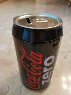 Coca-Cola coin bank
