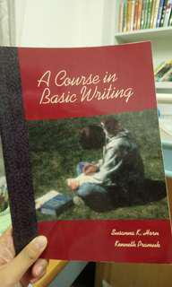 🚚 A course in basic writing