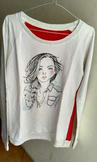 Sweatshirt - Shirt - Kaos - Atasan