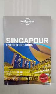 Singapore lonely planet - in french