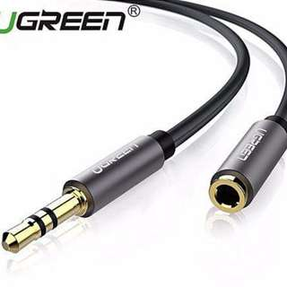 3m 3.5mm Stereo Jack Audio Extension Cable (Black)