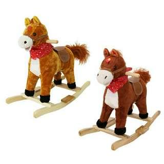 Kuda mainan budak rocking horse pony ride