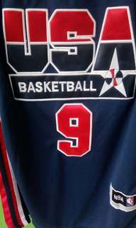 Jersey Jordan USA Dream Team 1990s