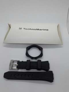 Technomarine watch straps and face cover