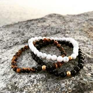 Valentino bracelet (Men's accessory bead bracelet)