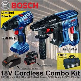 [NEW] BOSCH 18V COMBO KIT