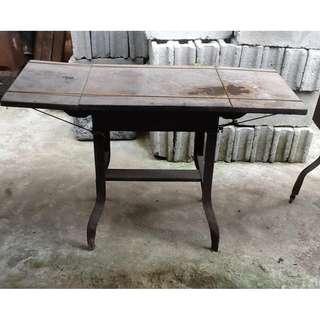 Antique Metal Typewriter Table #1
