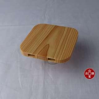 仿木紋無線充電盤  (編號 : 914-907)