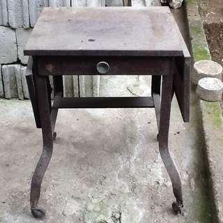 Antique Metal Typewriter Table#2