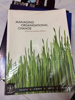 Managing Organisational Change (Human Resource book)