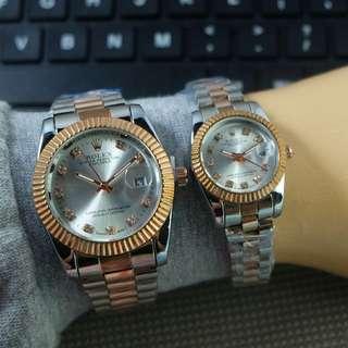 Rolex rantai diamond