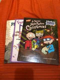 3 harbound books