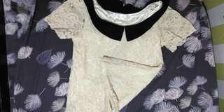 lace shirt blouse