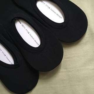 WOMEN'S FOOT SOCKS (black)