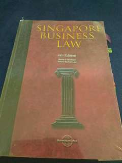 🚚 Singapore business Law 6th edition