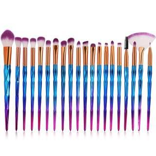 20 pcs unicorn brush set Preorder(1 week)