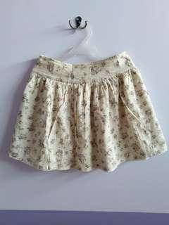 Jellybean Floral Skater Skirt
