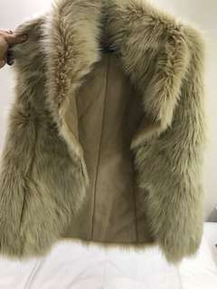Vintage fur vest (Italy)