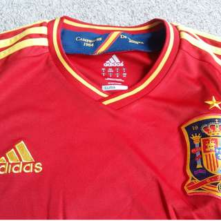 Jersey Spanyol Adidas 2008 Climacool