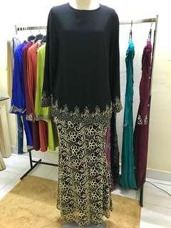 1set blouse & skirt