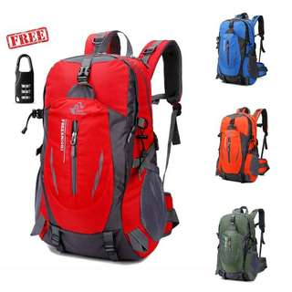 Tas gunung 40L hiking/trevel free knight