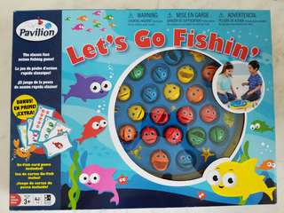 Almost new Toysrus Pavilion Lets Go Fishing Game