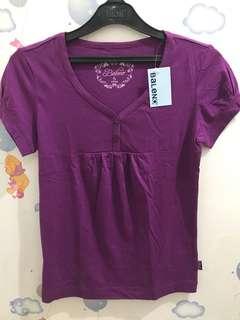Purple Shirt by Baleno