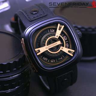 Seven Friday Type M Gold Plated