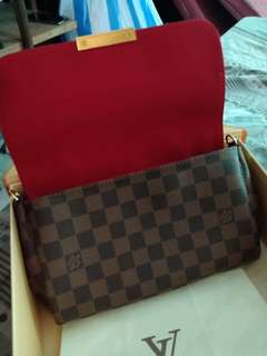 louis vuitton favorite damier mm authentic