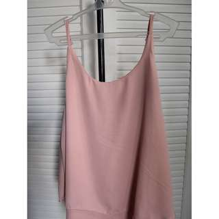 Hanging Sleeveless (Rose Beige)