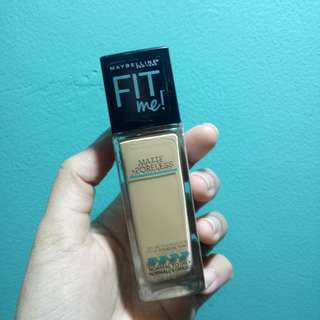 [NEW] Maybelline Fit Me Foundation Matte+Poreless Shade 228 (Soft Tan)
