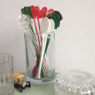 Assorted Stirrers from Singapore Hotels