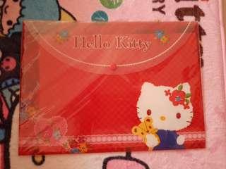 Hello kitty button folder file