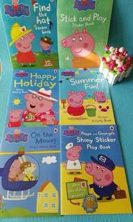 🚚 Peppa Pig Sticker Activity Book (6 books)