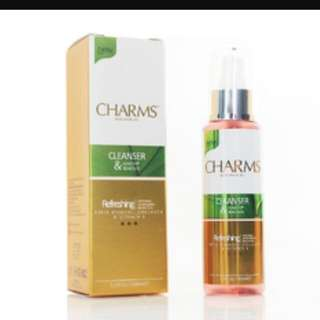 Charm cleanser/serum