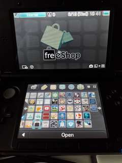 Modded Nintendo 3ds XL With 32 gb sim card