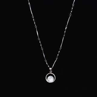 Circle Cirular necklace 圓緣