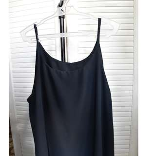 Hanging sleeveless (black)