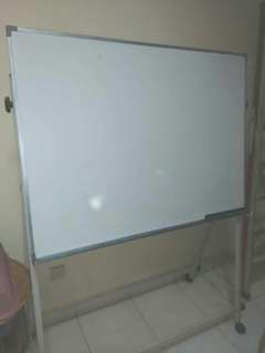 Mobile Magnetic whiteboard with stand