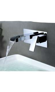 Waterfall basin mixer-conceal type