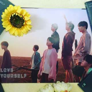 💜BTS Love Yourself TEAR Poster only 🖤