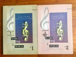 Music Books: Score Reading & Musical Perception