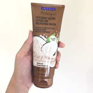 Coconut Glow Leave-on Bronzing Mask