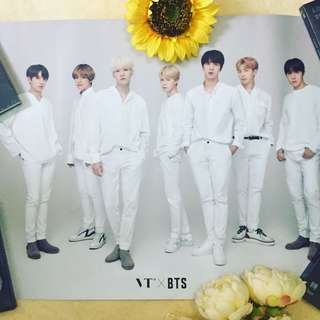 💜BTS Official Poster from VT Cosmetics 💕