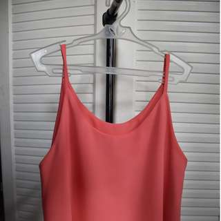 Hanging sleeveless (Strawberry Pink)